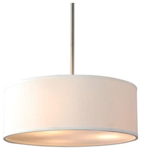 Drum L Shade With Diffuser by White Linen Drum Shade Acrylic Diffuser Pendant Modern