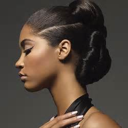 wrap hairstyles for black double knot wrap protective hairstyle thirstyroots com