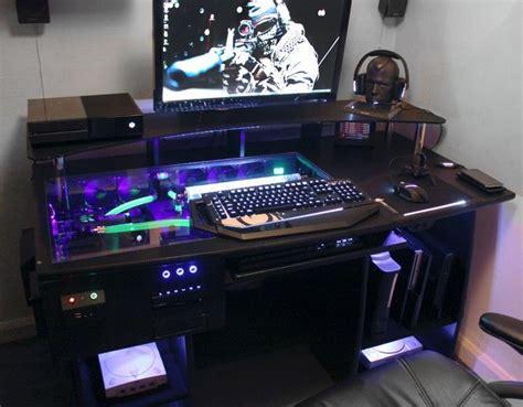14 Custom Gaming Computer Desk Images Ideas Gadgu Custom Gaming Desk