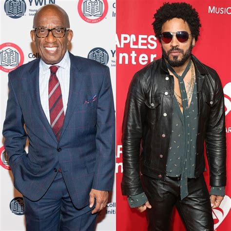 famous actors you didn t know were related al roker and lenny kravitz stars you didn t know were