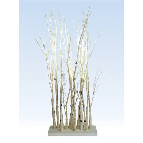 light up twig branches stand melrose 50881 50881 wh electric birch branches