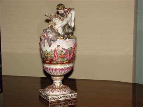 Capodimonte Vase Prices by Capodimonte Vase Antique Antique Price Guide Details Page