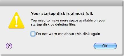 how to make room on startup disk oakbog 187 help my startup disk is almost
