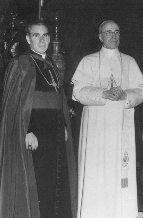 Lost Chances Bishop Chance 4 bishop fulton j sheen with pope pius xii the house of
