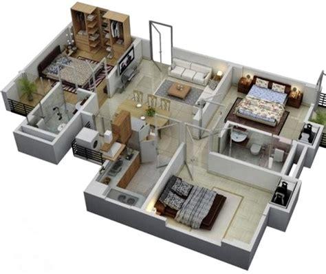 10 gambar denah rumah 3 kamar ukuran 7x9 terbaru