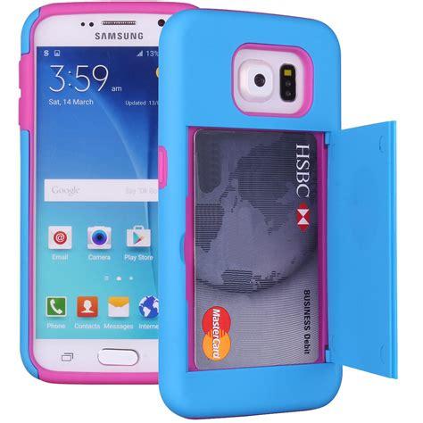 Funky Hardshell For Samsung Galaxy S6 Edge samsung galaxy s6 edge card holder wallet soft