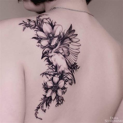 bird tattoos on back 55 cool bird ideas that are truly in vogue