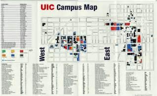 University Of Chicago Campus Map by Seng Nduwe Ngamuk Uic Campus Map