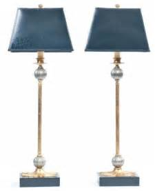 Tall Buffet Table Sold Out Pair Of Black And Gold Buffet Lamps 450 Est