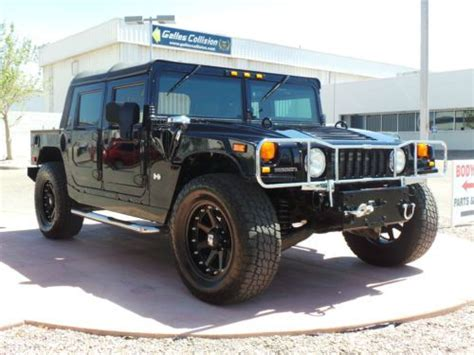best car repair manuals 2002 hummer h1 electronic toll collection service manual 2002 hummer h1 door handle removal find used 2002 hummer h1 black 4 door open