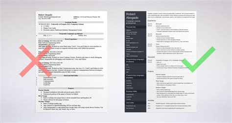 computer science resume sample career center csuf