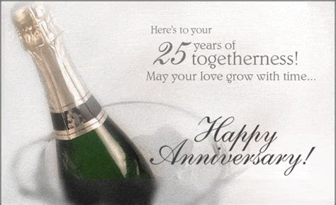 warm wishes for silver jubilee anniversary