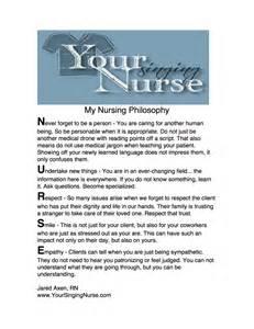 my nursing philosophy