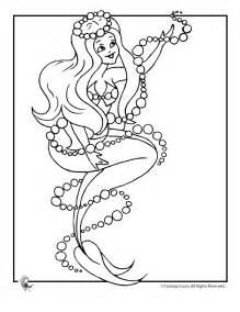 mermaid princess coloring pages free printable coloring pages az coloring pages