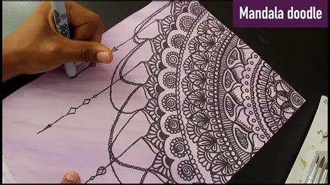 dream catcher doodle mandala doodle dreamcatcher youtube