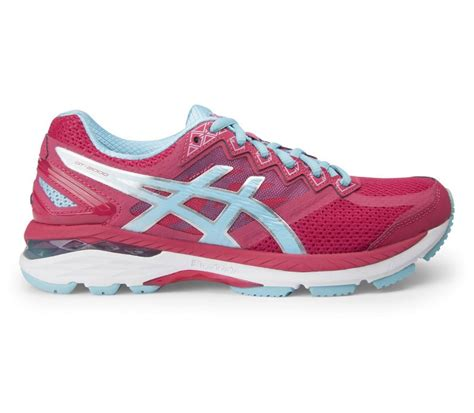 asics gt   womens running shoes pinkturquoise