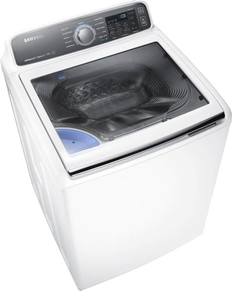 Samsung Wa48j7700aw 27 Inch Top Load Washer With