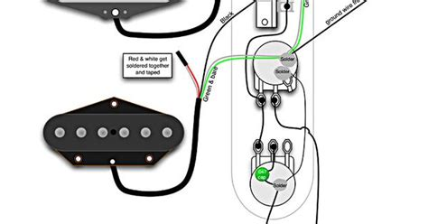 telecaster wiring diagram tech info fender