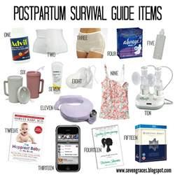 seven graces postpartum survival guide c section recovery
