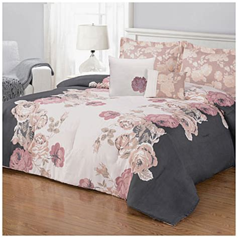 view living colors queen 5 piece reversible comforter