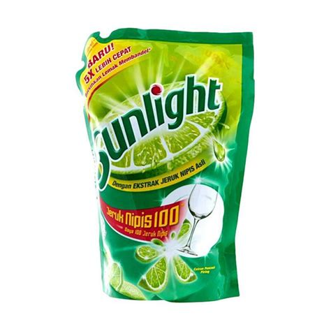 Pencuci Piring 800 Ml jual sunlight lime refill cairan pencuci piring 800 ml