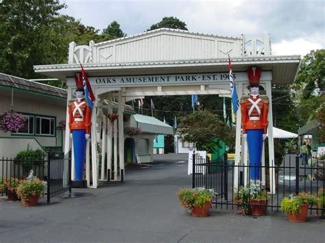 theme park oregon portland or oaks amusement park portland oregon photo