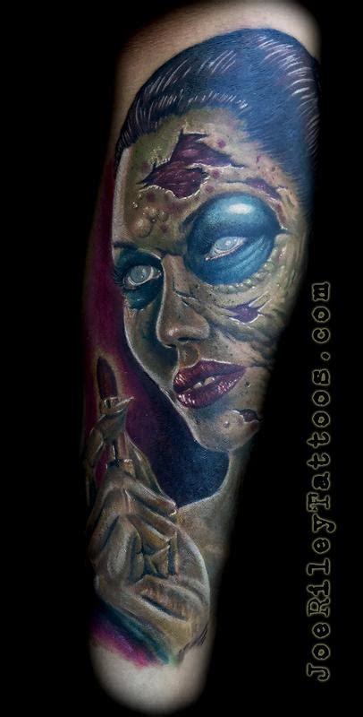 zombie tattoo joe instagram zombie tattoo by joe riley tattoonow