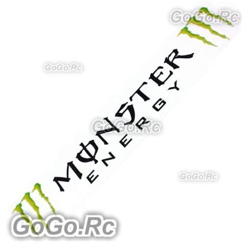 Monster Aufkleber Rc by Monster Energy Sticker Decal Jdm Racing Car Bumper Black
