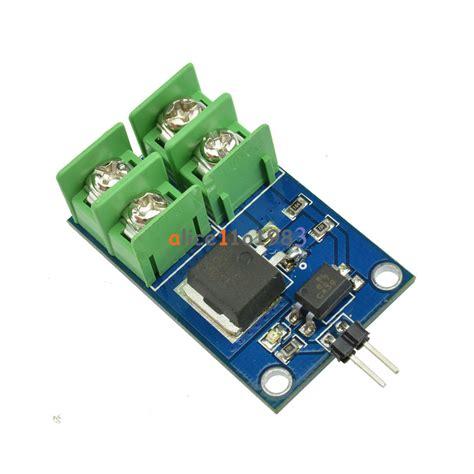 fet transistor arduino 3v 5v low high voltage 12v 24v 36v e switch mosfet module for arduino ebay