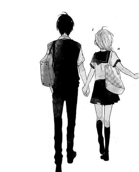 anime couple holding hands anime holding hands tumblr