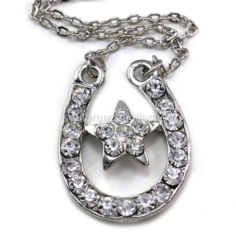 western pendants for jewelry horseshoe pendant necklace lucky western