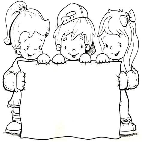 imagenes infantiles escolares a color inspirado dibujos infantiles escolares para colorear
