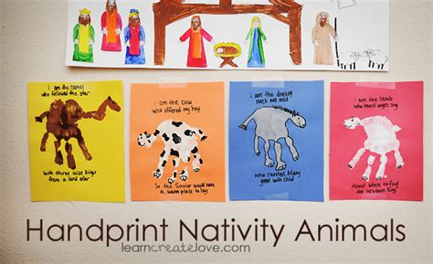 printable nativity scene animals free nativity printables and crafts