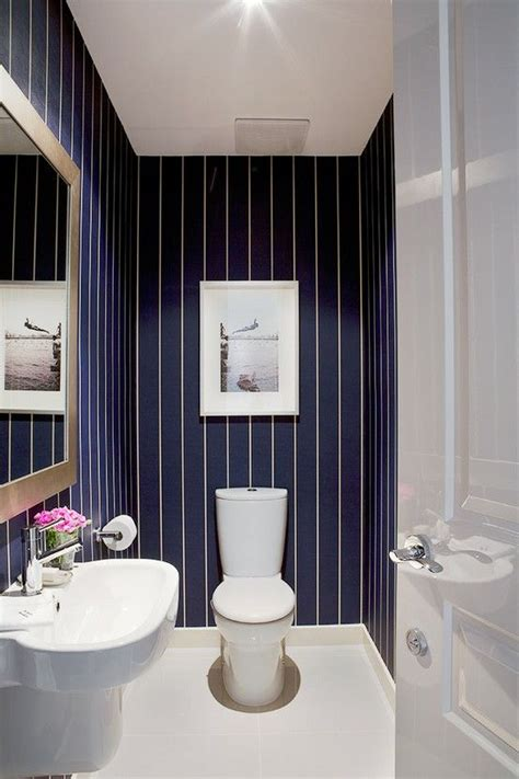 decoration wallpaper for bathrooms ideas with striped トイレ ストライプ 壁紙 トイレ pinterest diy パウダー お風呂