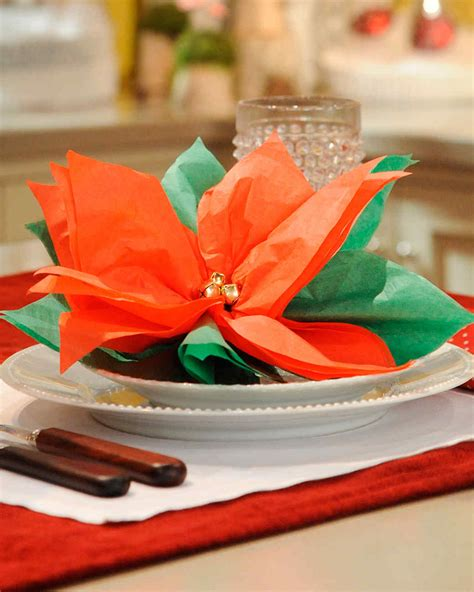 holiday table decorations from the martha stewart show