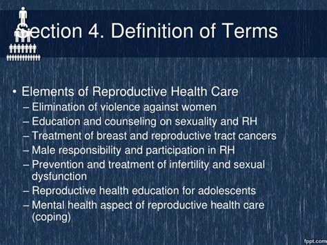 definition of sectionalism ppt the reproductive health law powerpoint presentation