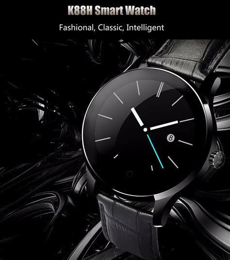 great best k88h bluetooth smart watch smartwatch stainless steel band