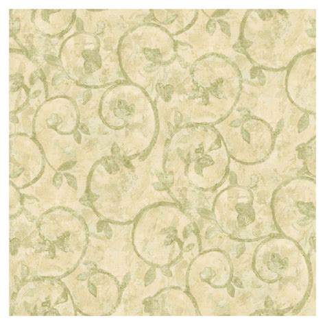 green pattern pinterest green scrool and leaves beige background scroll