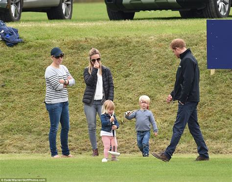 prince harry s friend prince harry cheers up mia tindall at beaufort polo club