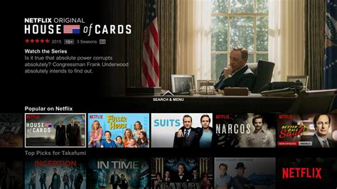 try netflix on android tv