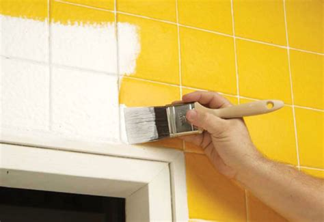 can you paint over ceramic tile in bathroom can i paint over ceramic tile bay area painting info mb