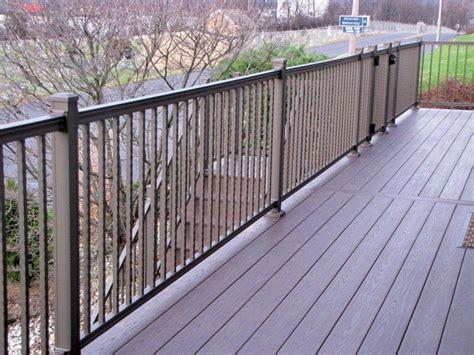 hammered aluminum railing bronze dutchwaydutchway