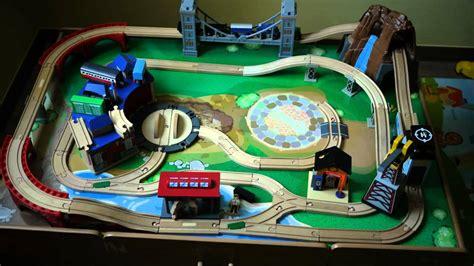 Train Table Toys R Us Building Process Of Imaginarium Classic Train Table Youtube