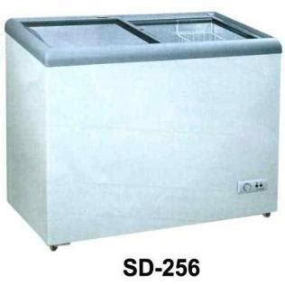 Gea Sliding Flat Glass Freezer harga freezer gea sd 256 pricenia