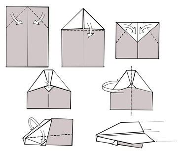 How To Make A Eagle Paper Airplane - portfolio mattias beimers paper airplanes