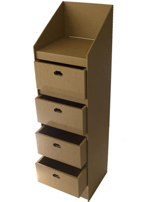 Cardboard Drawer Unit by Cardboard Drawer Unit Createunique