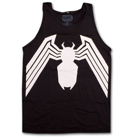 Tank Top Venom Logo venom symbol tank top black superheroden