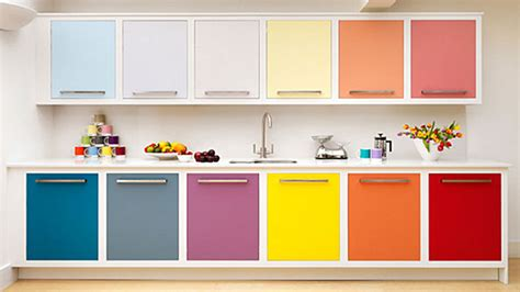 Colorful Kitchen Cabinets Home Sweet Home Homedesign121