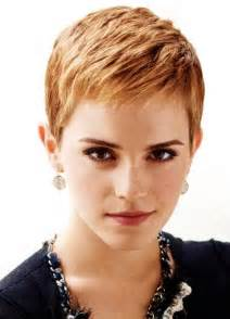 shortest hairstyle emma watson short hairstyle subtle waves pretty designs