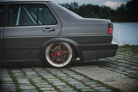 stanced volkswagen jetta the world s best photos of mk2 and oz flickr hive mind